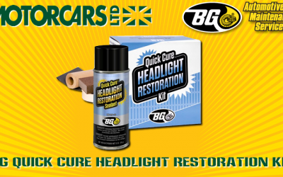 Motorcars Ltd. – BG Headlight Restoration Service