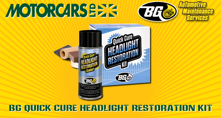 Motorcars Ltd. – BG Headlight Restoration Service