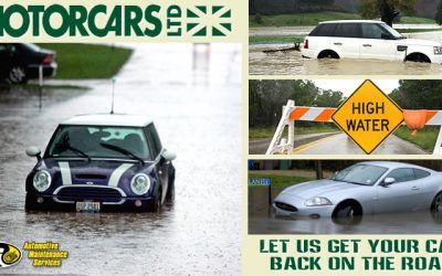 Let Motorcars Ltd. Help You With Your Flooded Car