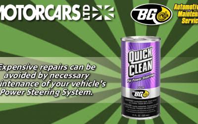 Motorcars Ltd – BG Power Steering Service