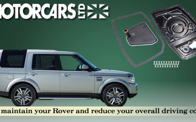 Land Rover Transmission Pan Conversion Service