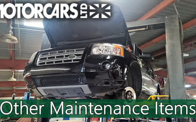 Motorcars Ltd – Maintenance Series – #5 Other Maintenance