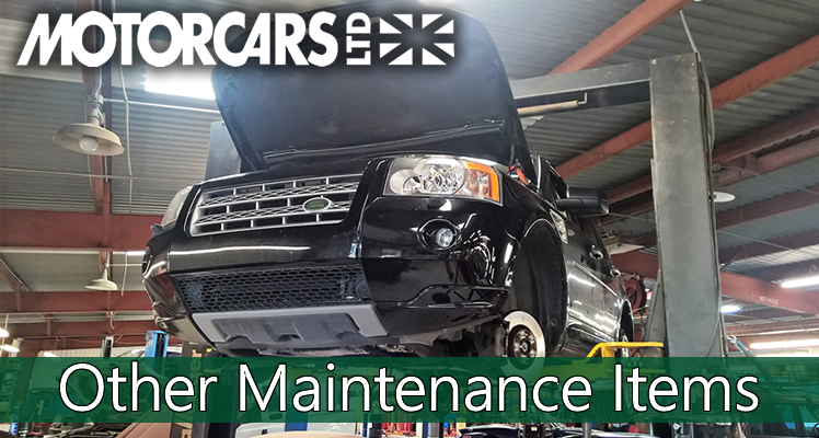 Motorcars Ltd – Maintenance Series – #5 Other Maintenance