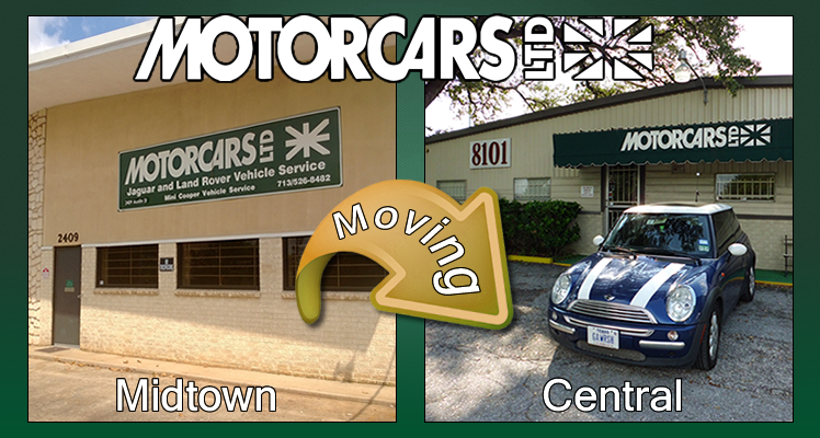 Motorcars Ltd Midtown is Moving